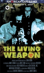 "Ad for my work on ""The Living Weapon"""